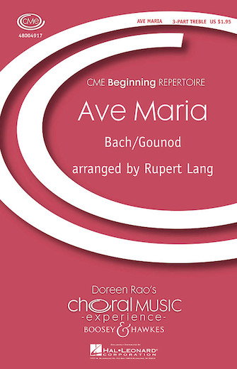 Ave Maria : SSA : Rupert Lang : Sheet Music : 48004917 : 073999049176