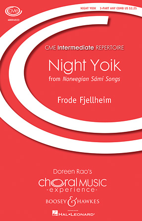 Night Yoik : 3-Part : Frode Fjellheim : Frode Fjellheim : Sheet Music : 48004923 : 073999094725