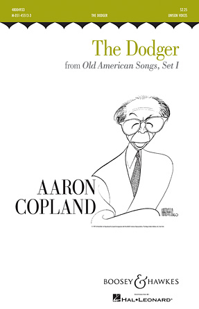The Dodger (Campaign Song) : Unison : Aaron Copland : Sheet Music : 48004933 : 073999049336