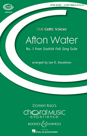 Afton Water : SA : Lee Kesselman : Sheet Music : 48004958 : 073999338065