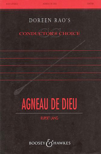 Agneau de Dieu : SATB divisi : Rupert Lang : Rupert Lang : Sheet Music : 48005012 : 073999117998