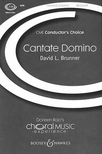 Cantate Domino : SATB : David L. Brunner : David L. Brunner : Sheet Music : 48005030 : 073999497380