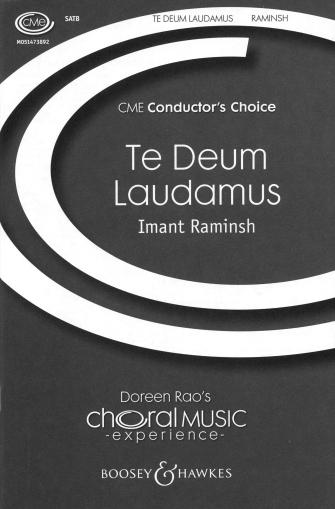Te Deum Laudamus : SATB : Imant Raminsh : Sheet Music : 48005060 : 073999193510