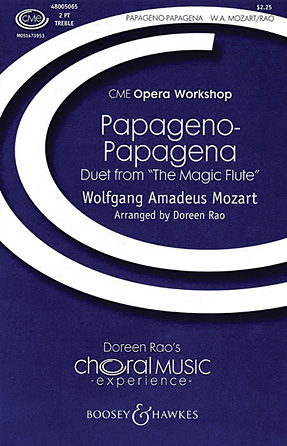 Papageno-Papagena : 2-Part : Doreen Rao : Wolfgang Amadeus Mozart : Sheet Music : 48005065 : 073999931174