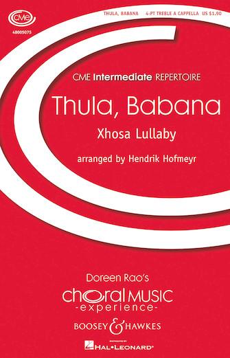 Thula, Babana : SSA : Hendrik Hofmeyr : Sheet Music : 48005075 : 073999050752