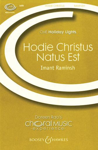 Product Cover for Hodie Christus natus est