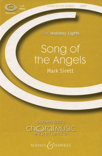 Song of the Angels : SATB : Mark Sirett : Mark Sirett : Sheet Music : 48018912 : 073999631616