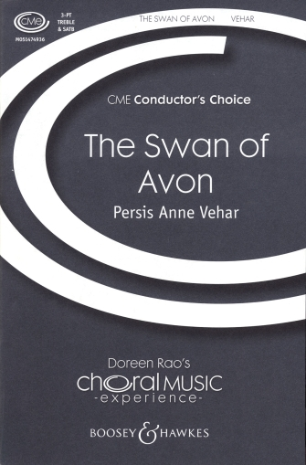 The Swan of Avon : SATB : Persis Anne Vehar : Persis Anne Vehar : Sheet Music : 48005159 : 073999836257