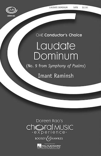 Laudate Dominum : SATB : Imant Raminsh : Sheet Music : 48005182 : 073999736434 : 1423409949