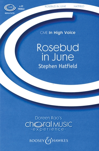 Rosebud In June : SSAA : Stephen Hatfield : Sheet Music : 48005186 : 073999168563