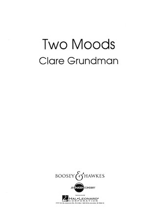 Product Cover for Two Moods Overture