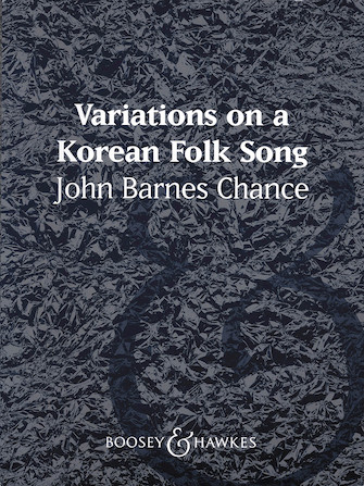 Product Cover for Variations on a Korean Folk Song