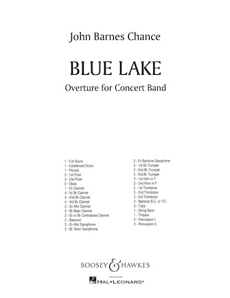 Product Cover for Blue Lake