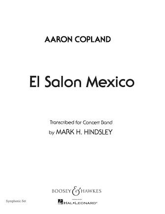 Product Cover for El Salón México