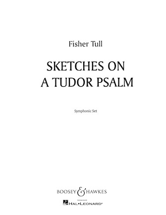 Product Cover for Sketches on a Tudor Psalm