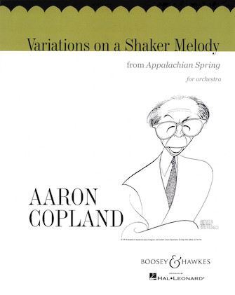 Product Cover for Variations on a Shaker Melody (from Appalachian Spring)
