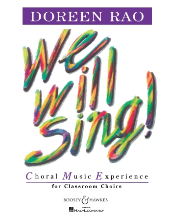 Product Cover for We Will Sing!