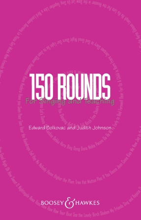Product Cover for 150 Rounds for Singing and Teaching