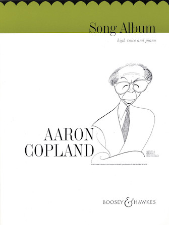 Product Cover for Aaron Copland – Song Album