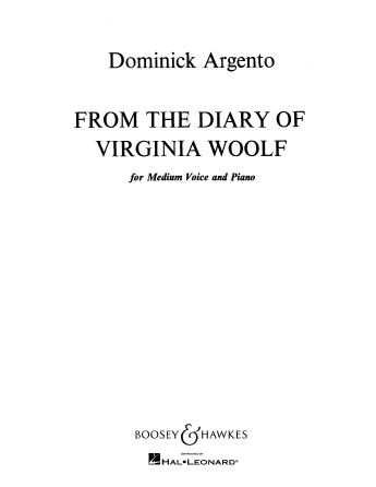 Product Cover for From the Diary of Virginia Woolf