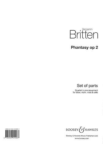 Product Cover for Phantasy Quartet, Op. 2
