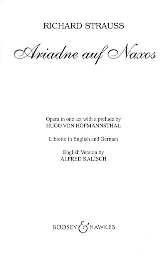 Product Cover for Ariadne auf Naxos, Op. 60