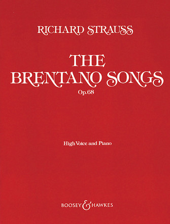 Product Cover for The Brentano Songs, Op. 68