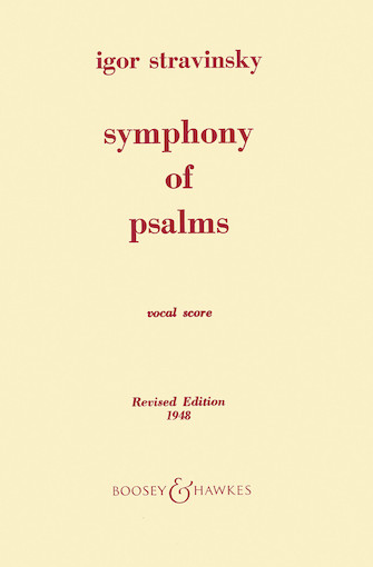 Product Cover for Symphony of Psalms