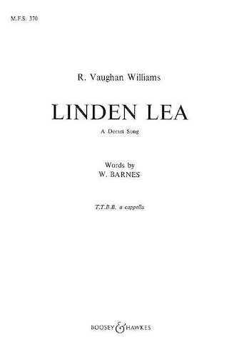 Product Cover for Linden Lea