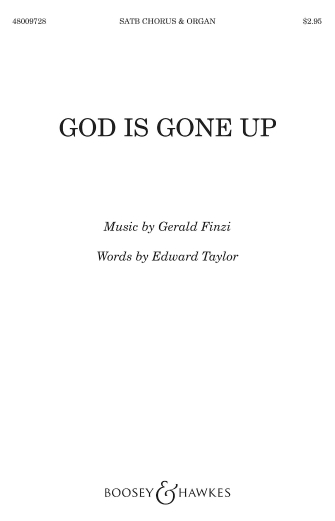 Product Cover for God is gone up
