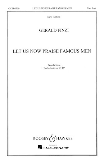 Product Cover for Let Us Now Praise Famous Men
