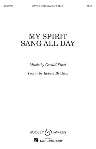 Product Cover for My Spirit Sang All Day