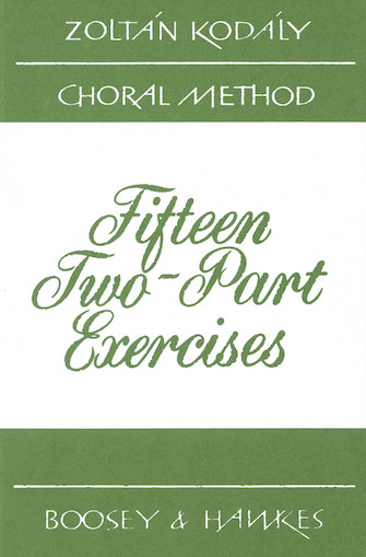 Product Cover for 15 Two-Part Exercises