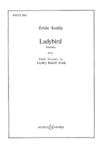 Ladybird : SSA : 0 : Songbook : 48009979 : 073999907636