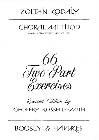 Product Cover for 66 Two-Part Exercises