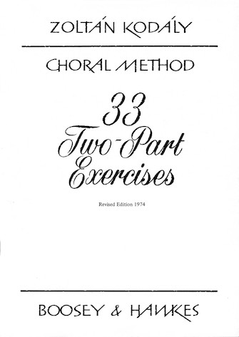 Product Cover for 33 Two-Part Exercises