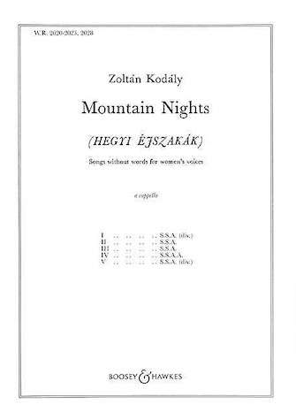 Product Cover for Mountain Nights – Complete