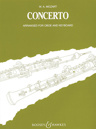 Product Cover for Oboe Concerto in C, K. 314