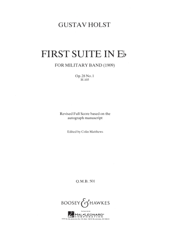 Product Cover for First Suite in E Flat (Revised)