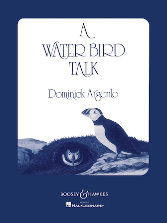Product Cover for A Water Bird Talk