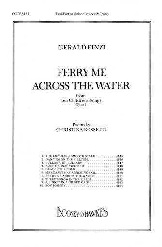 Product Cover for Ferry Me Across the Water