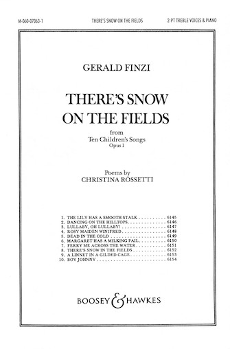 Product Cover for There's Snow on the Fields