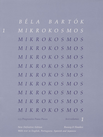 Product Cover for Béla Bartók – Mikrokosmos Volume 1 (Blue)
