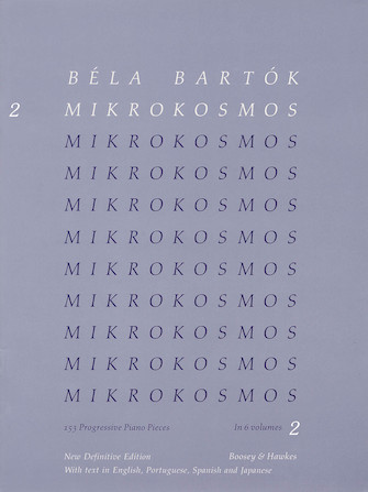 Product Cover for Mikrokosmos Volume 2 (Blue)