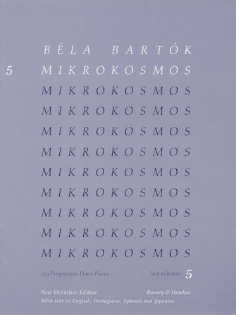 Product Cover for Mikrokosmos Volume 5 (Blue)