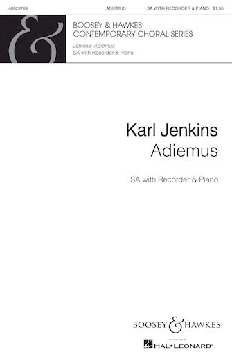 Adiemus (Theme) : SATB : Karl Jenkins : Karl Jenkins : Sheet Music : 48011825 : 073999648157