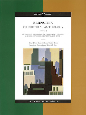 Product Cover for Bernstein – Orchestral Anthology, Volume 1