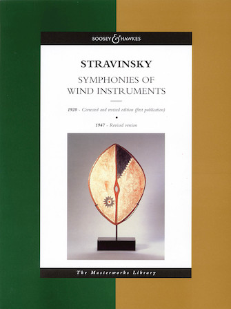 Product Cover for Stravinsky – Symphonies of Wind Instruments