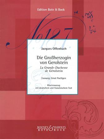 Product Cover for Die Grossherzogin von Gerolstein