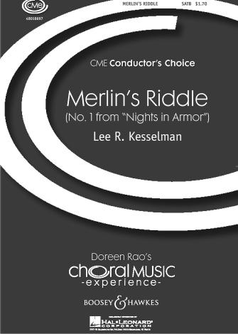 Merlin's Riddle  : SATB : Lee Kesselman : Lee Kesselman : Sheet Music : 48018697 : 073999536072